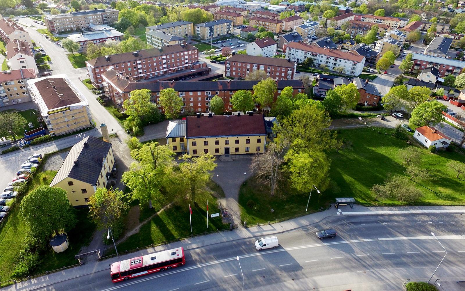 Gustavslund flygfoto