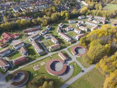Flygfoto Vallby Hage